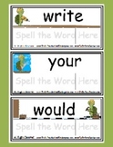 Sight Word Game Level 4 - Toolin' Turtles - Reading Litera