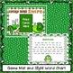Sight Word Game – Lucky Bugs SWIPE Game {EDITABLE}