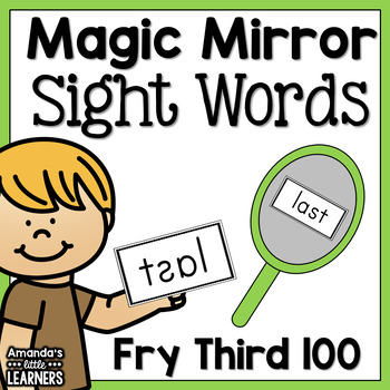 Sight Word Game - Magic Mirror Reveal Fry Third Hundred