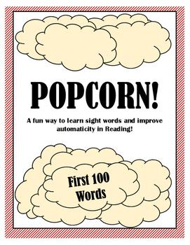 Sight Word Game - POPCORN!