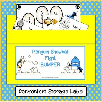 Sight Word Game: Penguin Bumper FREEBIE {EDITABLE}