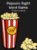 Sight Word Game {Popcorn}