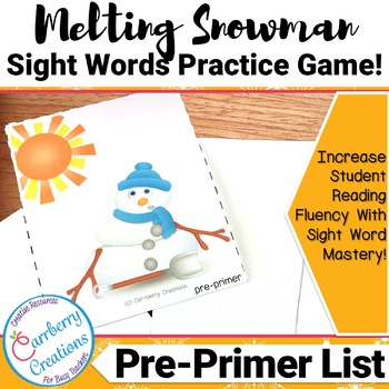 Sight Word Game | Pre-Primer List