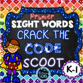 Sight Word Game - Primer Sight Words - Mystery Code