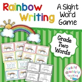 Rainbow Write Sight Words Grade 2 List