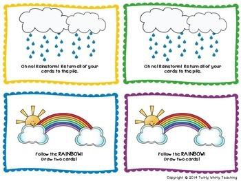 Sight Word Rainbow Writing Primer List