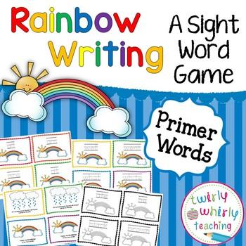 Dolch Sight Word Rainbow Writing Primer List