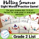Sight Word Game | Second Grade List