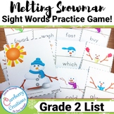Sight Word Flashcards Game | Second Grade List