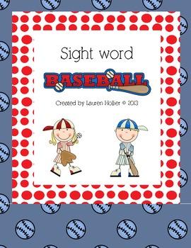 Sight Word Game: Sight Word Baseball