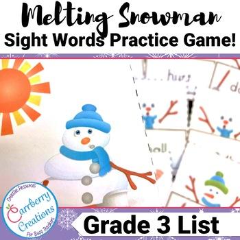 Sight Word Game | Third Grade List