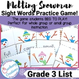 Sight Word Game | Third Grade List