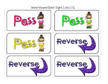 Sight Word Game - Word Wizards