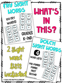 Sight Word Game for Dental Heath Month - Literacy Center