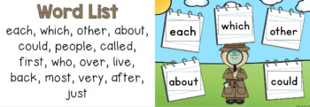 Sight Word Game - Word Detectives
