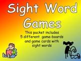 Sight Word Gameboards- Third Grade