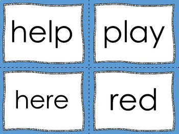 Sight Word Games {Dolch Aligned}