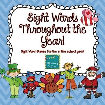 *Sight Word Games Bundle