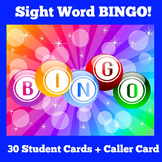 Sight Word Games First Grade | BINGO