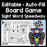 Sight Word Board Game {Race to the the Finish}