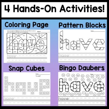 Sight Word Games Kindergarten {Slide to the Finish-A Sight Word Board Game}