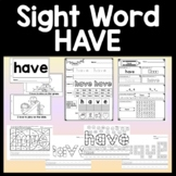 Sight Word Board Game {Slide to the Finish} {A Game for Sight Words}