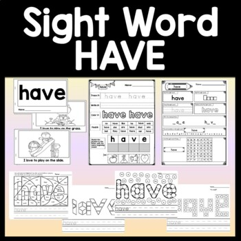 Kindergarten Sight Word Game {Slide to the Finish}