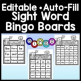 Sight Word Bingo {Editable!} {35 Bingo Cards using the FRY 100 Sight Word List}