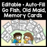 Sight Word Go Fish {2 sets of 48 cards!}