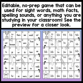 Sight Word Games {Fastest Fingers}