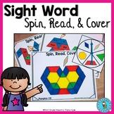 Fall Pattern Block Sight Word Games