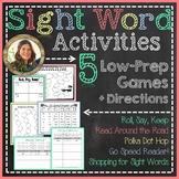 Sight Word / Word Work Games & Activities {by Tanya Rae Designs}