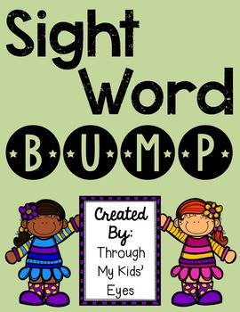 Sight Word Games: Bump