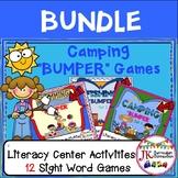 Sight Word Games: Camping, Fishing, & Swimming Bumper BUND