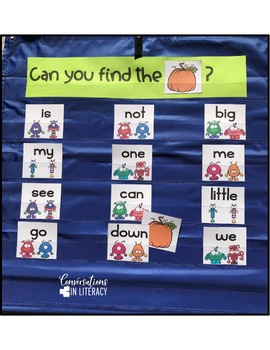 Sight Word Games Can You Find It?