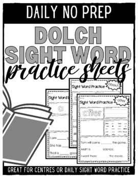 Sight Word Games: Colour by Letter and Fill in the Letter
