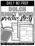 Sight Word Practice (All Dolch Sight Words)