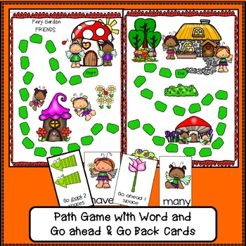 Sight Word Games – Fairy Garden Friends {EDITABLE}