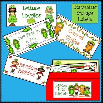 Sight Word Games: Garden Kids Bumper {EDITABLE}
