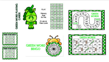 Sight Word Games Green