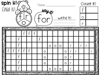Sight Word Games Groundhog Day