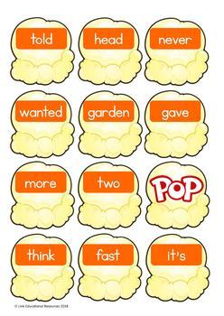 Sight Word Games: Orange