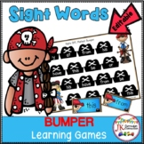 Sight Word Games - Pirate Bumper {EDITABLE}
