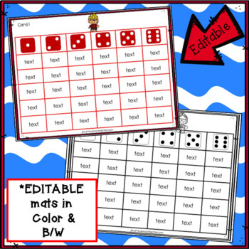 Sight Word Games - Pirate Trolls Roll & Cover {EDITABLE}