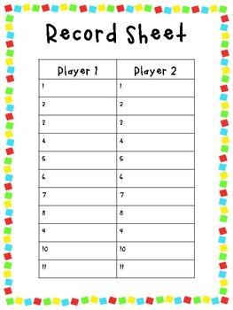 Sight Word Games (Primer)