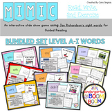 Sight Word Games - Read, Write, and Exercise - Jan Richardson's levels A-I