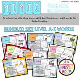 Sight Word Game: Jan Richardson Levels A-I Sight Words