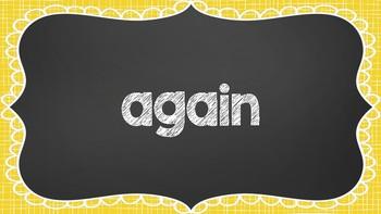 Sight Word Games - Reading Wonders 1st Grade Unit 2