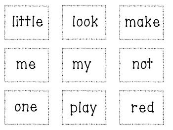Sight Word Games-Take All-Preprimer