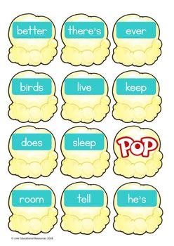 Sight Word Games: Turquoise